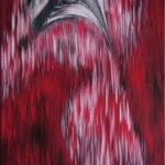 Lydia Gutnikova - Ein neues Gesicht - #002, 2010 Acryl, Leinwand 50 x 100 cm