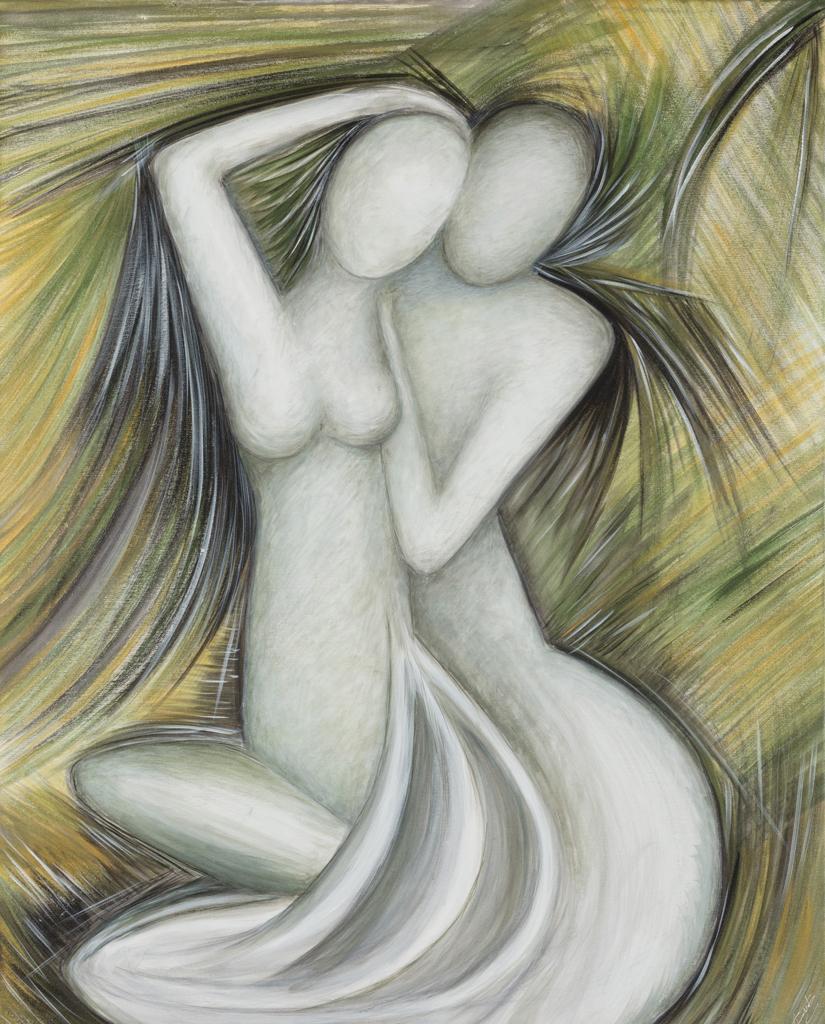 Lydia Gutnikova - Harmonie - #003, 2011 Acryl, Leinwand 80 x 100 cm