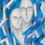 Lydia Gutnikova - Zuneigung - #004, 2012 Acryl, Leinwand 60 x 80 cm