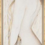Lydia Gutnikova - Anmut - #009, 2014 Acryl, Leinwand 45 x 125 cm