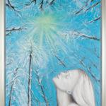 Lydia Gutnikova - Sehnsucht nach Licht und Wärme - #010, 2015 Acryl, Leinwand 90 x 110 cm