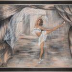 Lydia Gutnikova - Schweben - #012, 2015 Acryl, Leinwand 110 x 90 cm