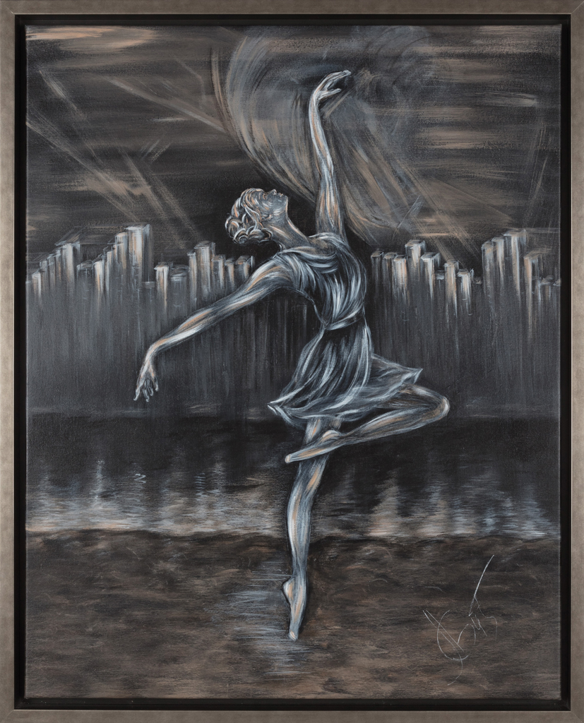 Lydia Gutnikova - Hochstimmung - #013, 2015 Acryl, Leinwand 85 x 105 cm