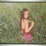 Lydia Gutnikova - Verführung - #014, 2016 Acryl, Leinwand 110 x 90 cm