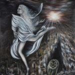 Lydia Gutnikova - Traumfee - #016, 2017 Acryl, Leinwand 100 x 140 cm