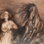 Lydia Gutnikova - Symbol der Stärke - #018, 2017 Acryl, Leinwand 140 x 100 cm