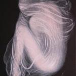Lydia Gutnikova - Metamorphose - #021, 2018 Acryl, Leinwand 60 x 90 cm