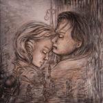 Lydia Gutnikova - Abschied - #024, 2018 Acryl, Leinwand 80 x 100 cm