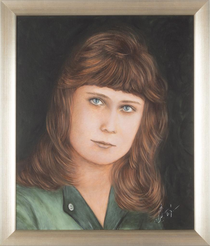 Lydia Gutnikova - Portrait - #100-2, 2016 Acryl, Leinwand 50 x 60 cm