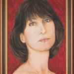 Lydia Gutnikova - Portrait - #100-3, 2016 Acryl, Leinwand 40 x 60 cm